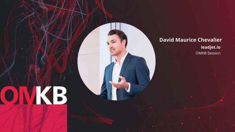 OMKB Session | Wie du LinkedIn für Social Selling nutzt und dabei GDPR-konform bleibst | David Maurice Chevalier, leadjet.io