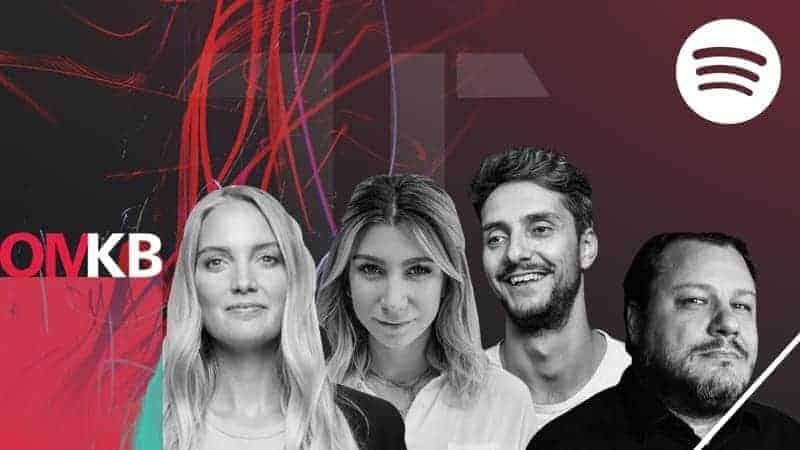 Sven Bieber (Spotify), Paula Thurm , Vincent Kittmann & Ann-Katrin Schmitz