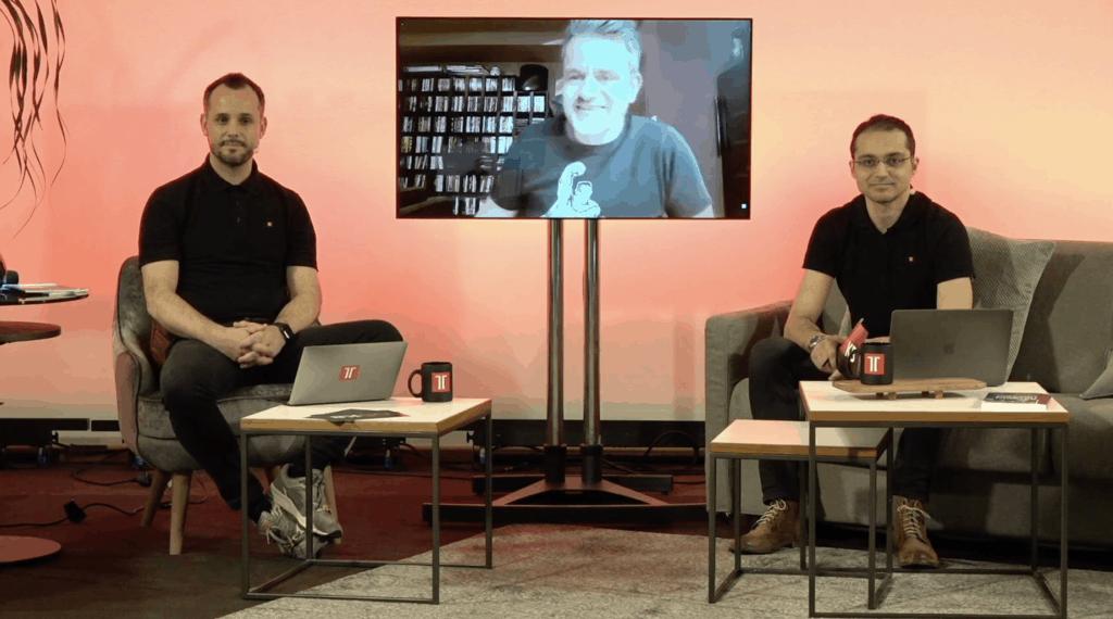 Mario Rose, Marcus Tandler und Schahab Hosseiny live auf der OMKB