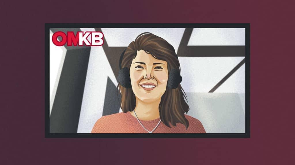 Lena Jüngst auf der virtuellen OMKB