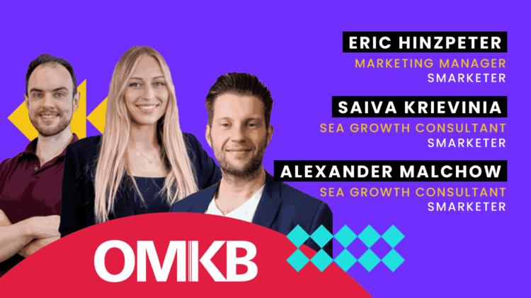Saiva Krievinia und Eric Hinzpeter, Smarketer | Roundtable zum Thema YouTube Ads