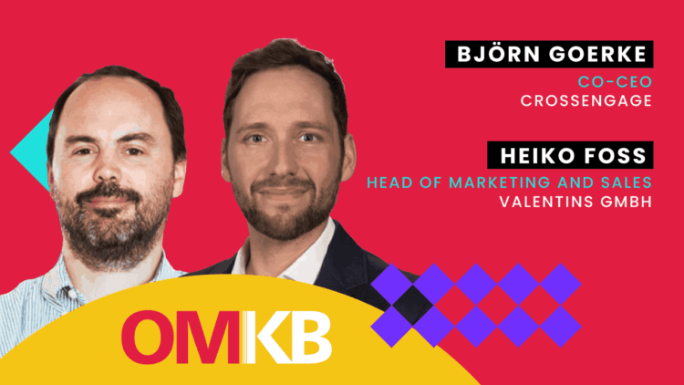 Björn Goerke, CrossEngage und Heiko Foß, Valentins GmbH | Datengetriebenes Marketing