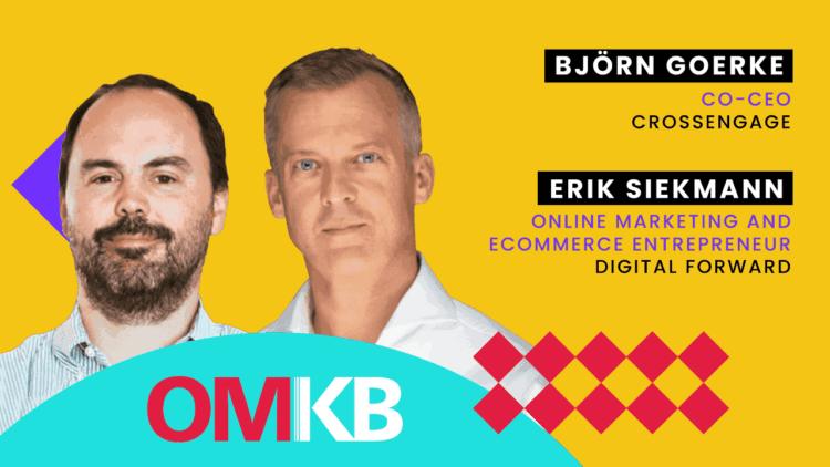 Björn Goerke, CrossEngage und Erik Siekmann, Digital Forward | Retention Marketing
