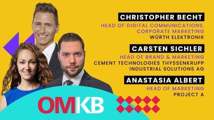 Würth Elektronik, Thyssenkrupp und Project A| B2B Growth Marketing Roundtable Talk