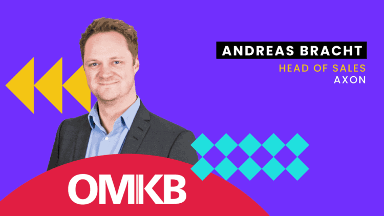 Andreas Bracht, aXon   Company to Watch   OMKB Summer Edition